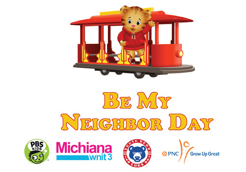 """Daniel Tiger's """"Be My Neighbor Day"""" at Four Winds Field Photo"""