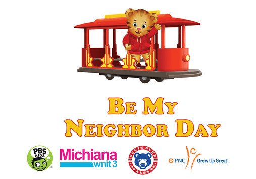 """WNIT, PNC Grow Up Great and the South Bend Cubs present Daniel Tiger's """"Be My Neighbor Day"""" at Four Winds Field Photo"""