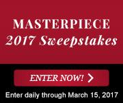 MASTERPIECE 2017 SWEEPSTAKES Photo