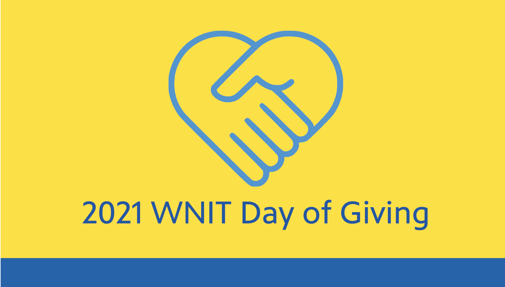 Thank You for making the 2021 WNIT Day of Giving a Huge Success Photo