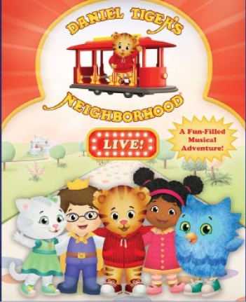 LAST CHANCE FOR TICKETS FOR DANIEL TIGER'S NEIGHBORHOOD LIVE! Photo