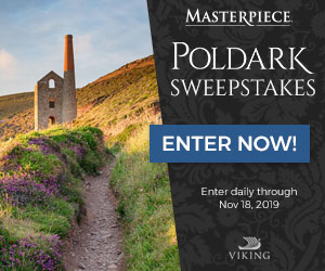 ENTER THE MASTERPIECE POLDARK SWEEPSTAKES! Photo