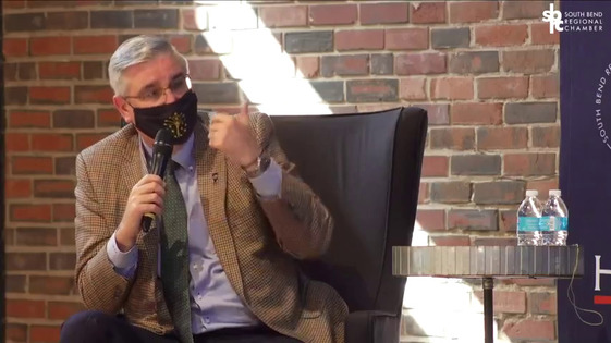 Interview with Governor Eric Holcomb Photo