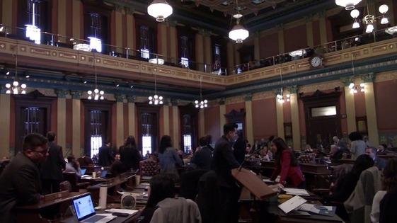 Michigan Legislature Photo