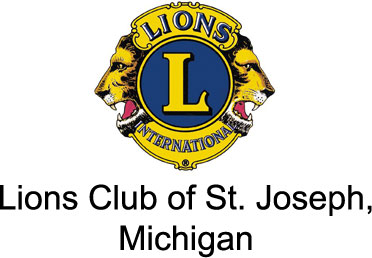 Lions Club of St. Joseph, Michigan Logo