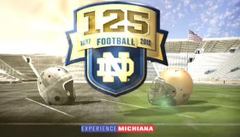 Notre Dame's 125th Football Season Photo