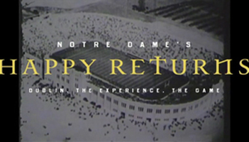 Notre Dame's Happy Returns Photo