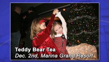 Teddy Bear Tea Photo