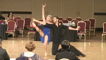 World Champion Ballroom Dancers Photo