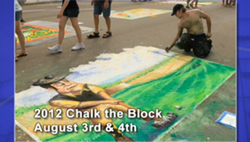 2012 Chalk The Block Photo