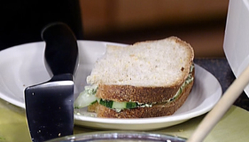 Spicy Cucumber Sandwiches Photo