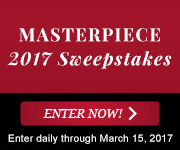 MASTERPIECE 2017 SWEEPSTAKES Image