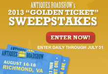 Antiques Roadshow Sweepstakes Image