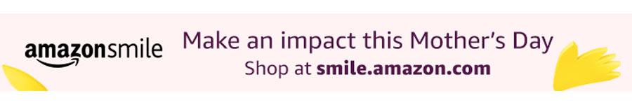 Amazon Smile Banner 2018