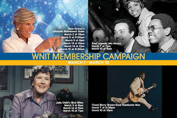 WNIT Membership Campaign for March.