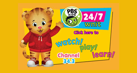 PBS 24/7 Kids Channel on WNIT. Click here to watch, play, and learn. Channel 34.3