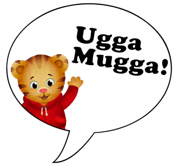 Image of Daniel Tiger Ugga Mugga Bubble