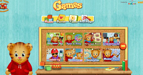 Image of Daniel Tiger Games