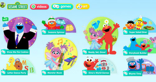 Image of Sesame Street Games