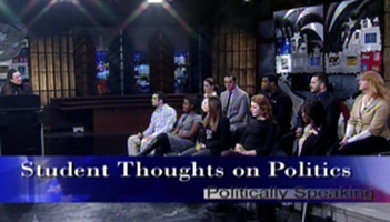 Student Thoughts on Politics Photo