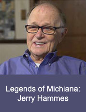 Logo for Legends of Michiana: Jerry Hammes