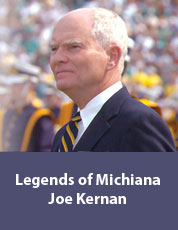Logo for Legends of Michiana: Joe Kernan