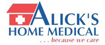 Alick's Home Medical Logo
