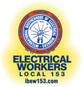 Electrical Workers Local 153 Logo