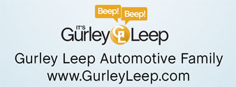 Gurley Leep Automotive Family Logo