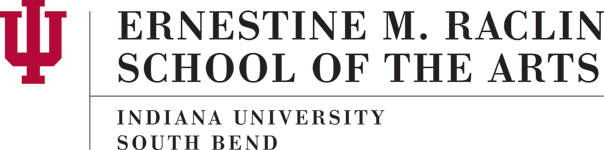 Ernestine M. Raclin School of the Arts IU South Bend  Logo