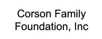 Corson Family Foundation, Inc. Logo