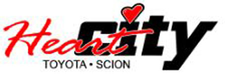 Heart City Toyota Logo