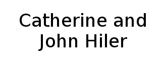 Catherine and John Hiler Logo