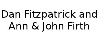 Dan Fitzpatrick and Ann & John Firth Logo