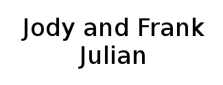 Jody and Frank Julian Logo
