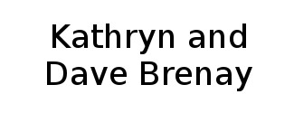 Kathryn and Dave Brenay Logo
