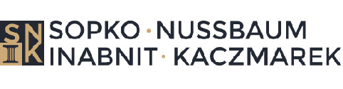 Sopko, Nussbaum, Inabnit & Kaczmarek Attorneys at Law Logo